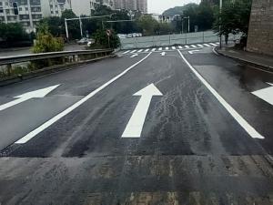 江南路道路维修